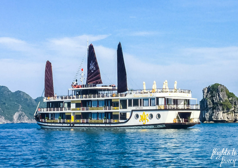 Flights To Fancy: Orchid Cruises Halong Bay Vietnam - Boat