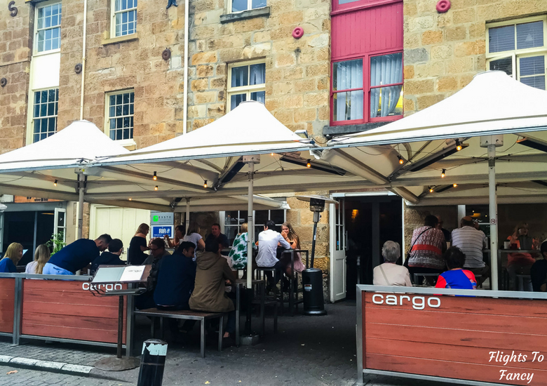 Flights To Fancy: Where To Eat in Hobart Harbour & Salamanca Place - Cargo Exterior