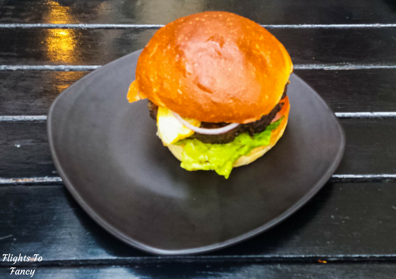 Flights To Fancy: Where To Eat in Hobart Harbour & Salamanca Place - Jack Greene Greek Lamb Burger