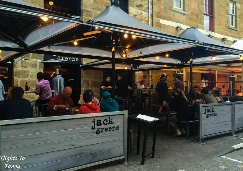 Flights To Fancy: Where To Eat in Hobart Harbour & Salamanca Place - Jack Greene Exterior