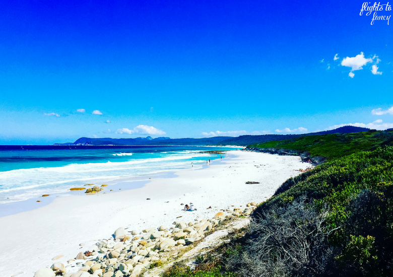 Flights To Fancy: Bicheno Tasmania: Freycinet's Most Affordable Town - Bicheno Beach