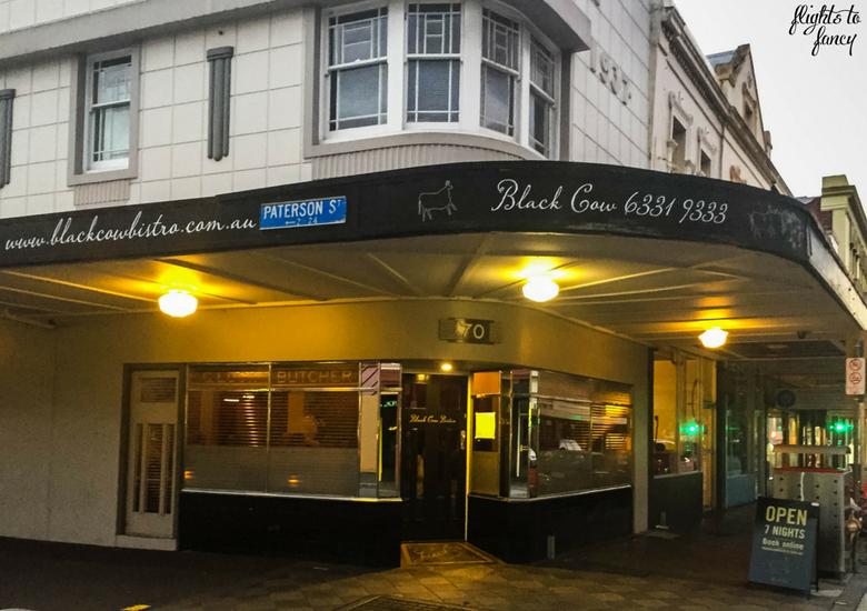 Flights To Fancy: Black Cow Bistro Launceston Australia's Best Steak? - Exterior