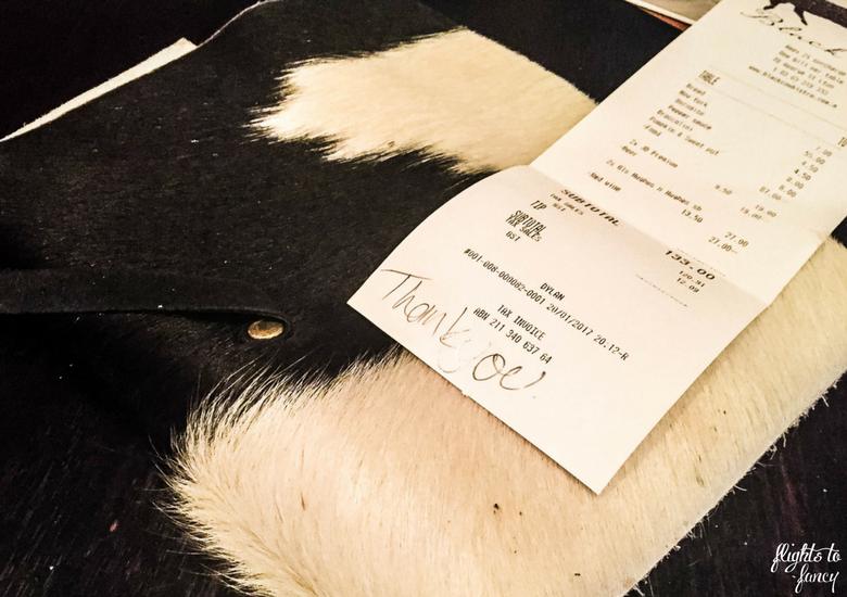 Flights To Fancy: Black Cow Bistro Launceston Australia's Best Steak? - The Bill