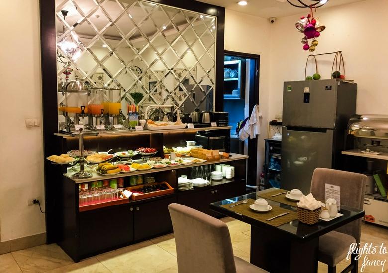 Flights To Fancy: Hanoi Glance Hotel Review - Breakfast Room-1