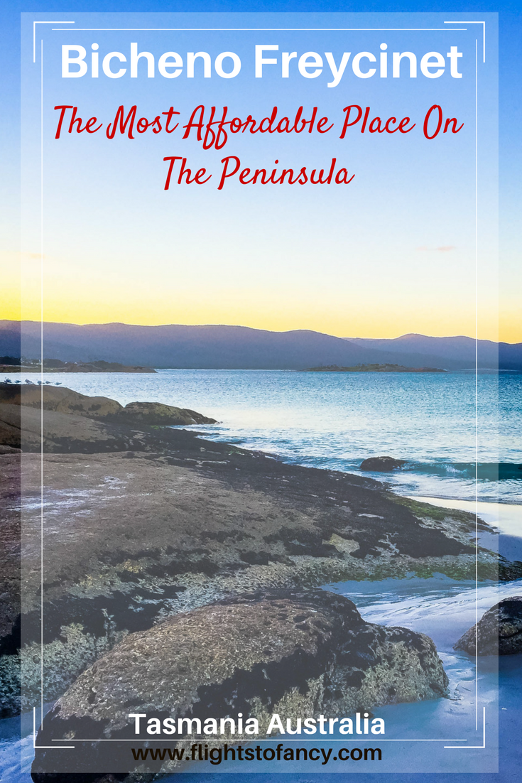 The Freycinet Peninsula's fancy lodgings can put a real dent in your travel budget, but it doesn't have to. Check out Bicheno on Tasmania's East coast for an affordable alternative to Coles Bay. The Beachfront At Bicheno provides a comfortable nights rest without breaking the bank.