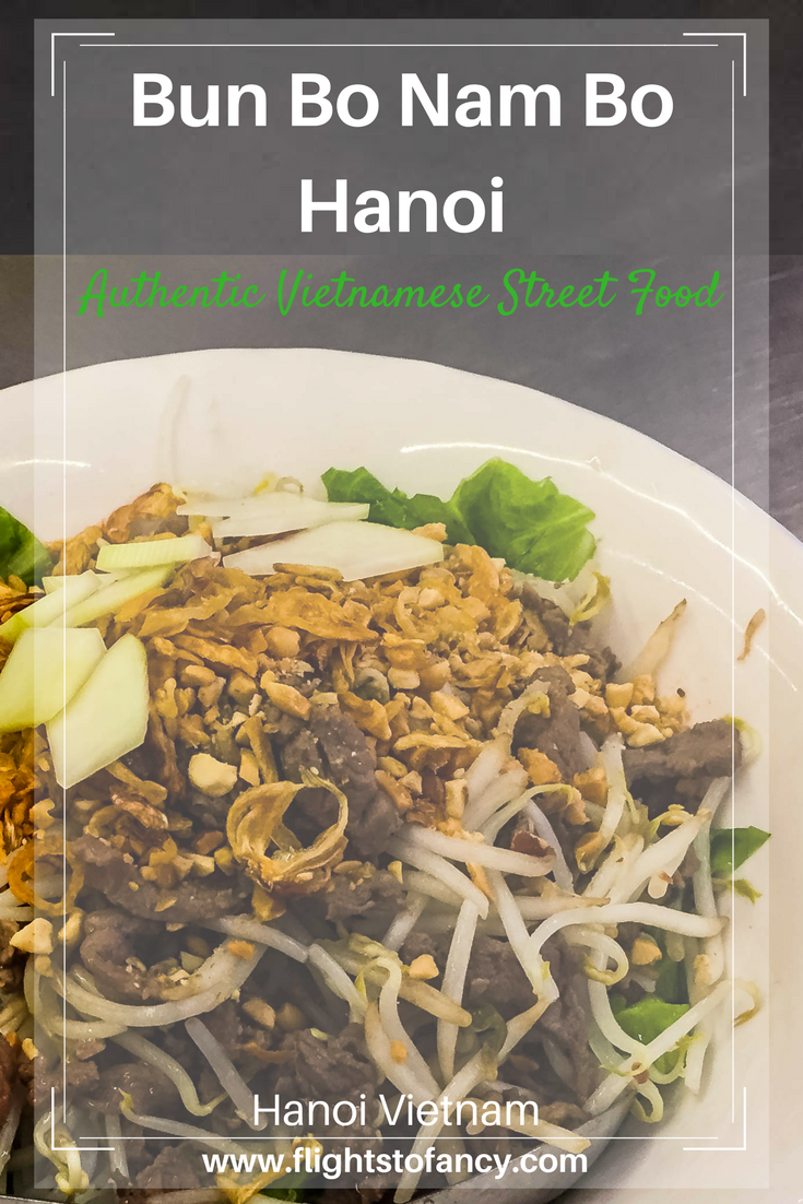 Want to try Vietnamese street food? At Bun Bo Nam Bo Hanoi the menu is tight, the prices are tiny and the specialty of the house is out of this world!