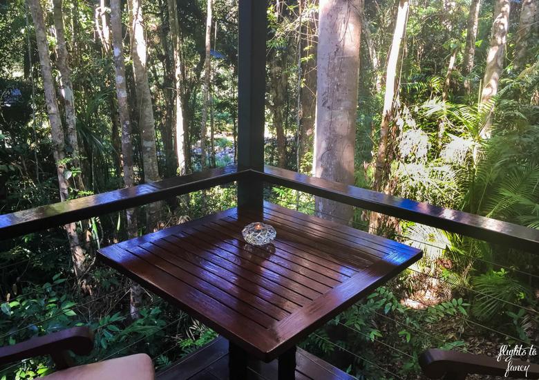 Flights To Fancy: Silky Oaks Lodge Mossman Queensland - Balcony