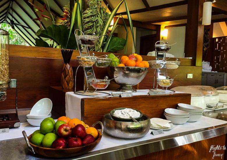Flights To Fancy: Silky Oaks Lodge Mossman Queensland - Cold Buffet