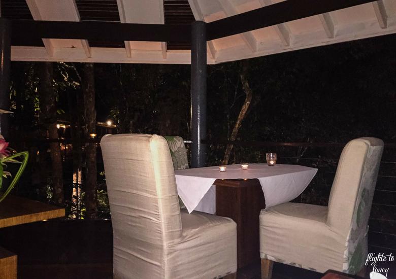 Flights To Fancy: Silky Oaks Lodge Mossman Queensland - Dining Table