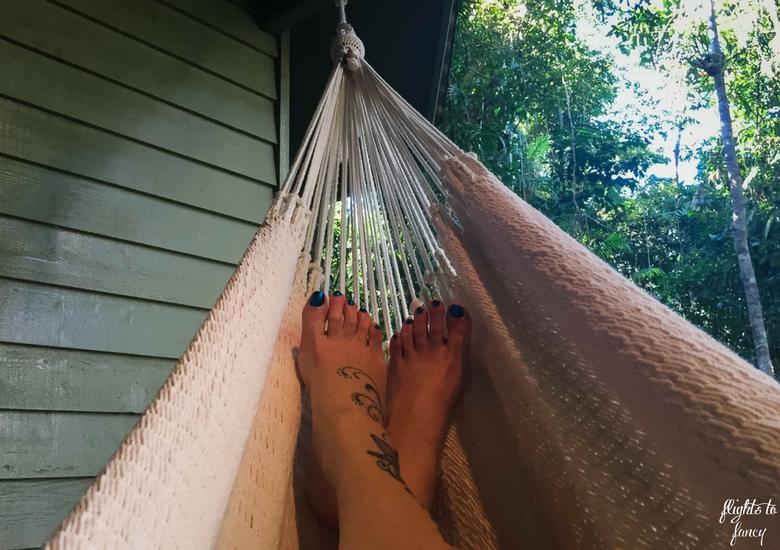 Flights To Fancy: Silky Oaks Lodge Mossman Queensland - Feet Up In The Hammock