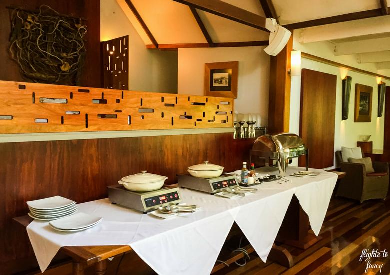 Flights To Fancy: Silky Oaks Lodge Mossman Queensland - Hot Buffet Breakfast