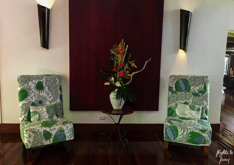 Flights To Fancy: Silky Oaks Lodge Mossman Queensland - Lobby