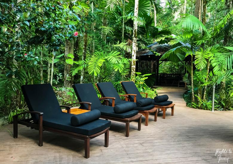 Flights To Fancy: Silky Oaks Lodge Mossman Queensland - Pool Lounges