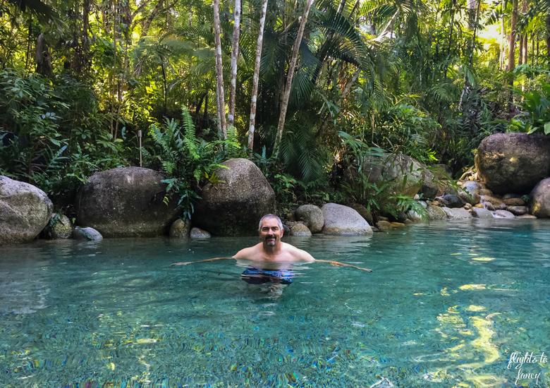 Flights To Fancy: Silky Oaks Lodge Mossman Queensland - Swimming In The Pool