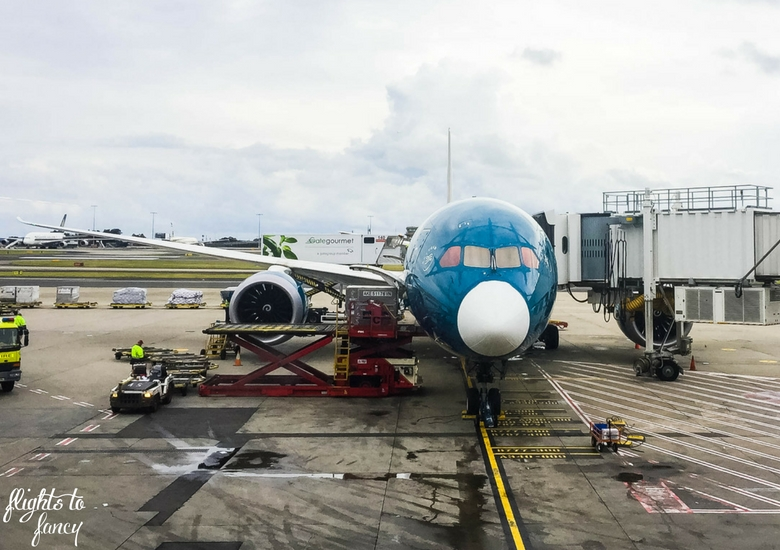 Flights To Fancy: Vietnam Airlines B787 - Plane