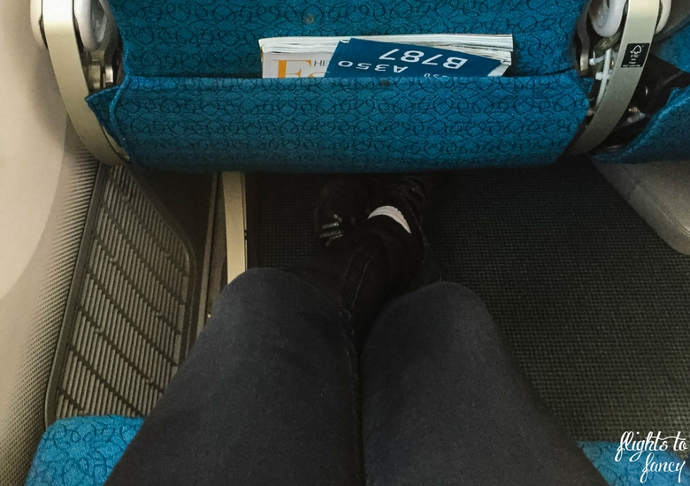 Flights To Fancy: Vietnam Airlines International Economy Review - Leg Room