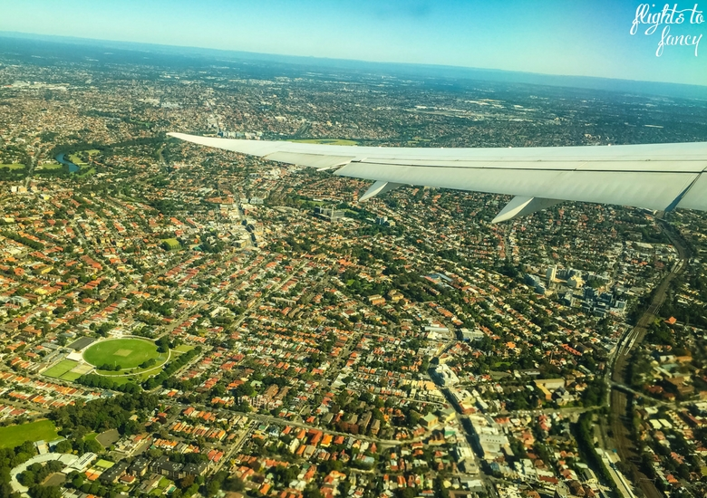 Flights To Fancy: Vietnam Airlines International Economy Review - Aerial View Of Sydney