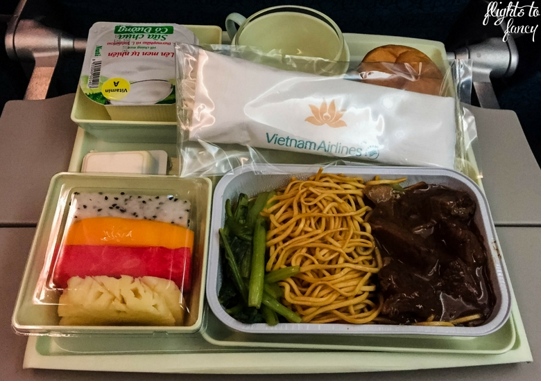 Flights To Fancy: Vietnam Airlines Review - Breakfast