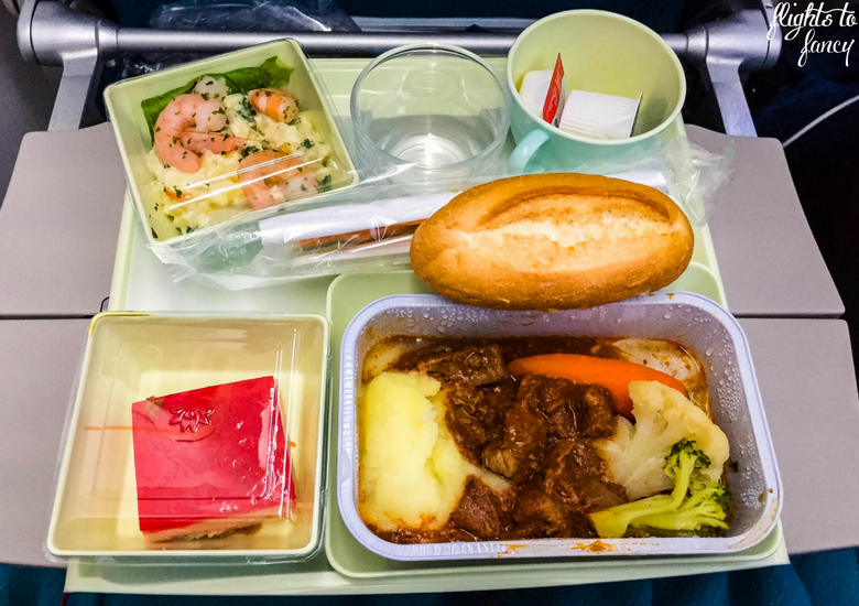 Flights To Fancy: Vietnam Airlines Review - Lunch