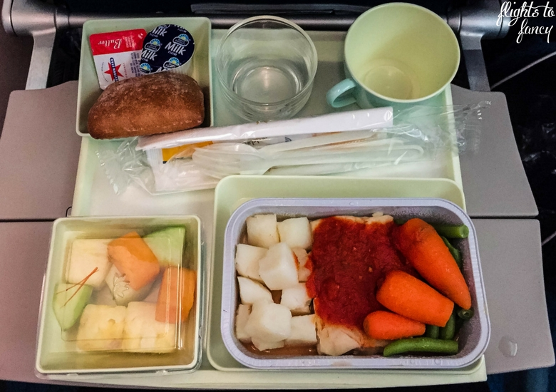 Flights To Fancy: Vietnam Airlines Review - Meal
