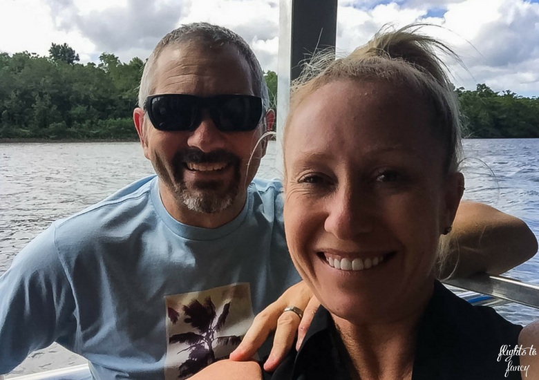 Flights To Fancy: Bruce Belchers Daintree River Cruises - Selfie