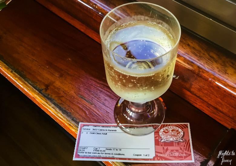Flights To Fancy: Kuranda Scenic Railway Gold Class - Champagne