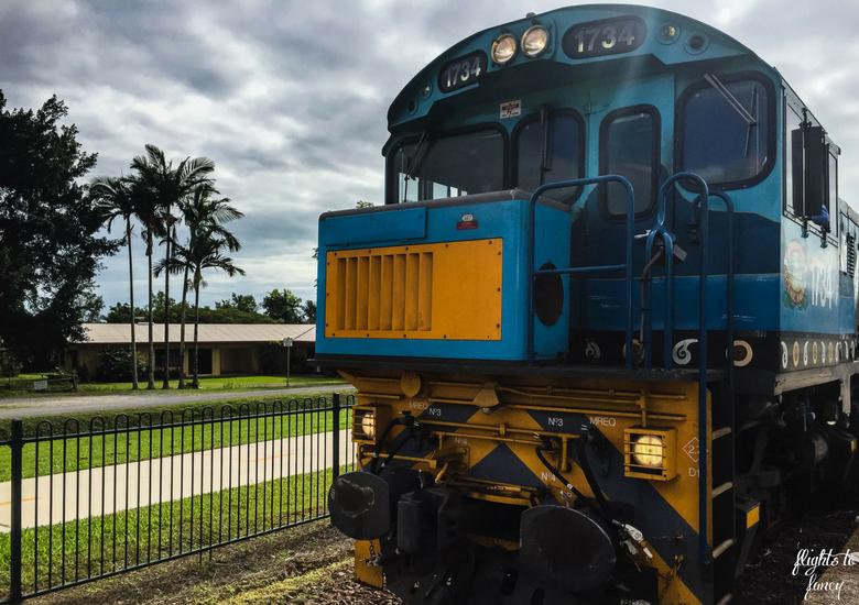 Flights To Fancy: Kuranda Scenic Railway Gold Class - Engine