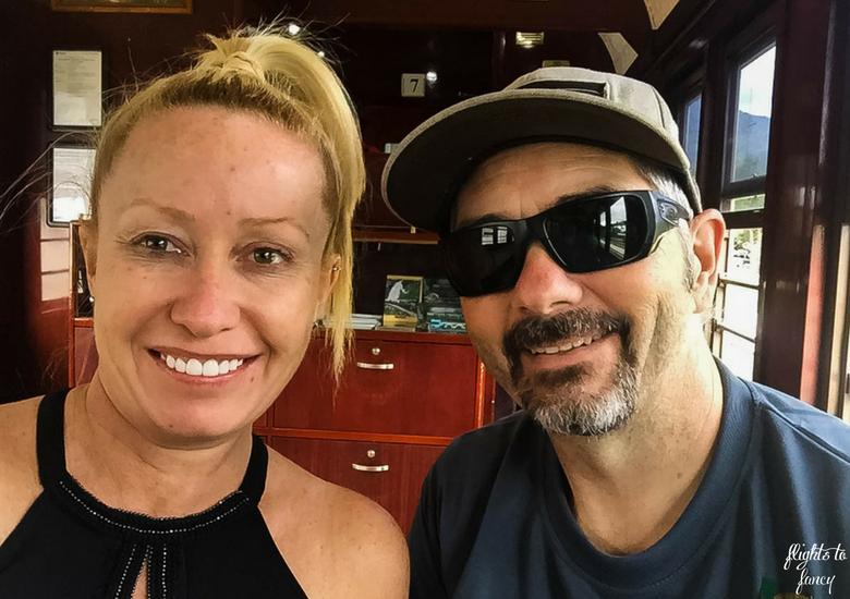 Flights To Fancy: Kuranda Scenic Railway Gold Class - Selfie