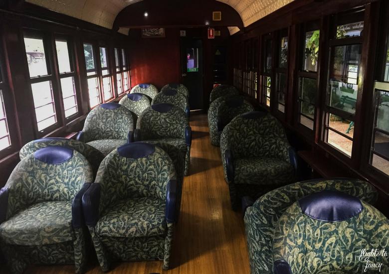 Flights To Fancy: Kuranda Scenic Railway Gold Class - Gold Class Cabin
