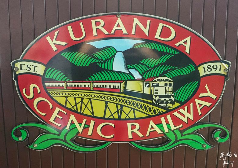 Flights To Fancy: Kuranda Scenic Railway Gold Class - Sign