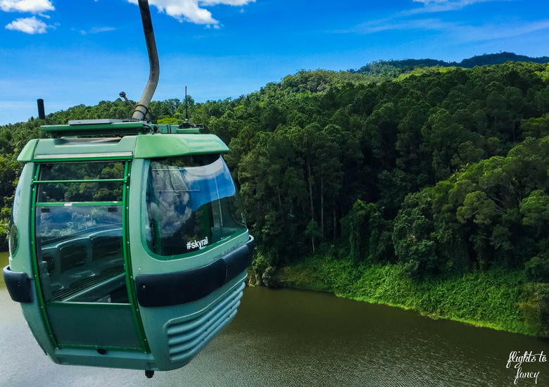 Flights To Fancy: Skyrail Rainforest Cableway Cairns - Cablecar over Barron River