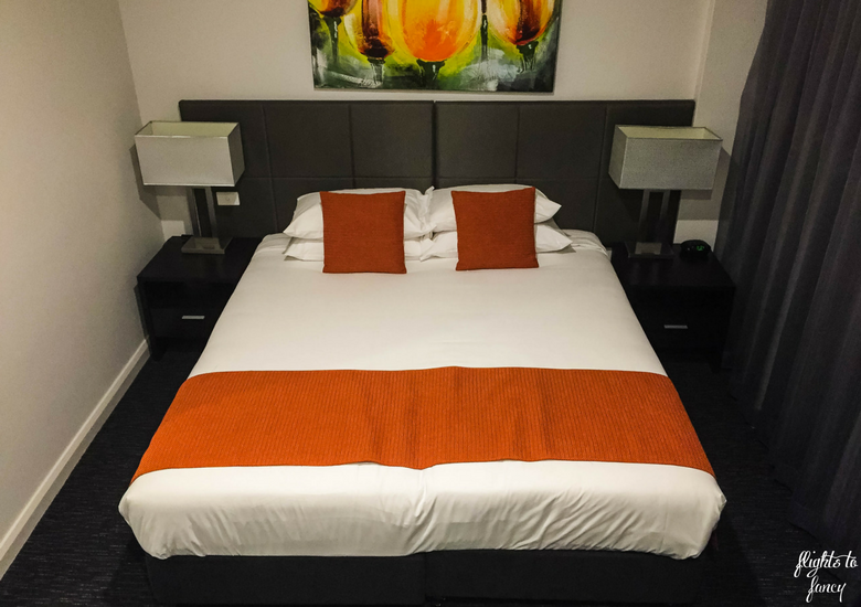 Flights To Fancy: The Abbott Boutique Hotel Cairns - Bedroom