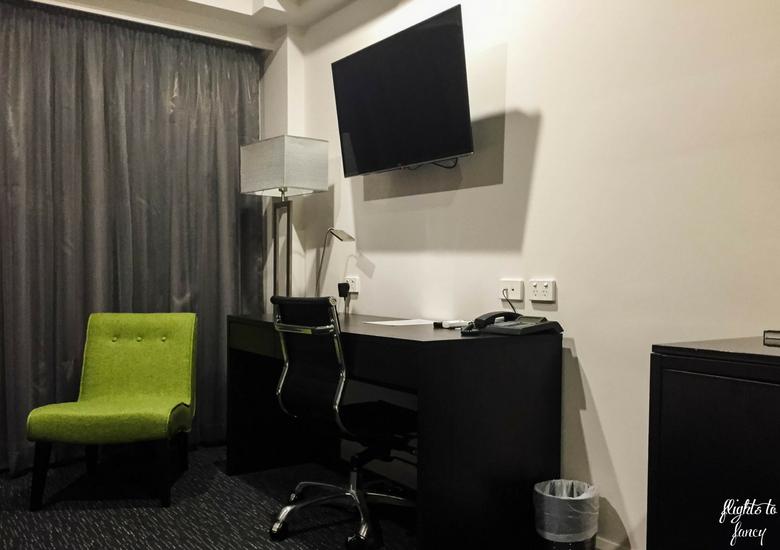 Flights To Fancy: The Abbott Boutique Hotel Cairns - Desk