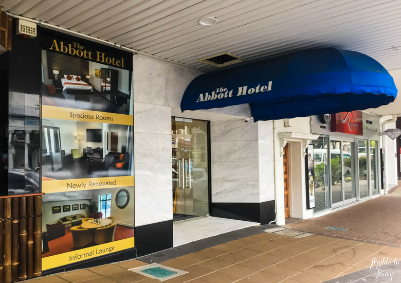 Flights To Fancy: The Abbott Boutique Hotel Cairns - Exterior