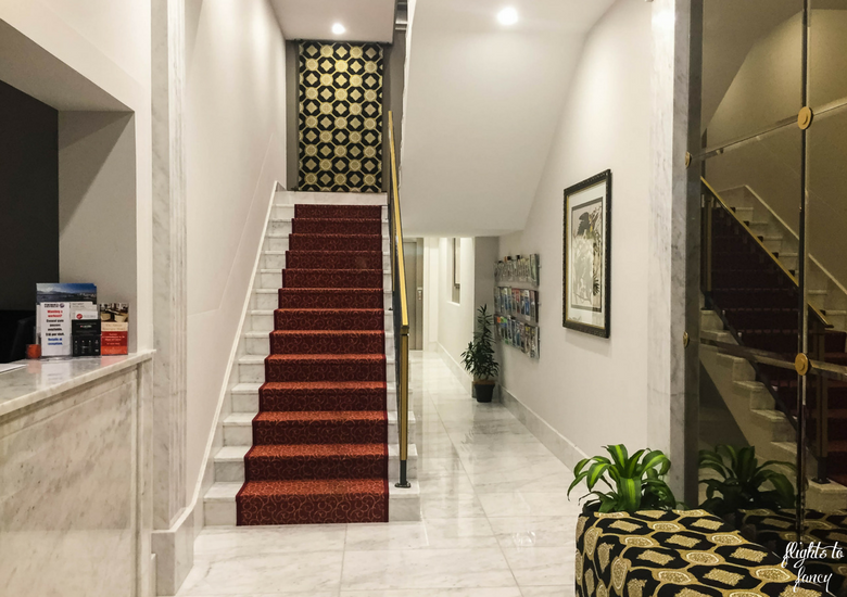 Flights To Fancy: The Abbott Boutique Hotel Cairns - Lobby