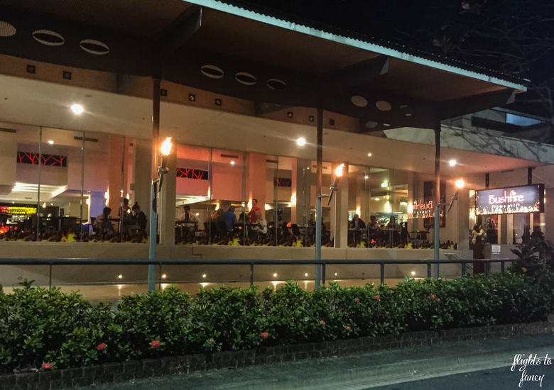 Flights To Fancy: Bushfire Flame Grill Cairns - Exterior