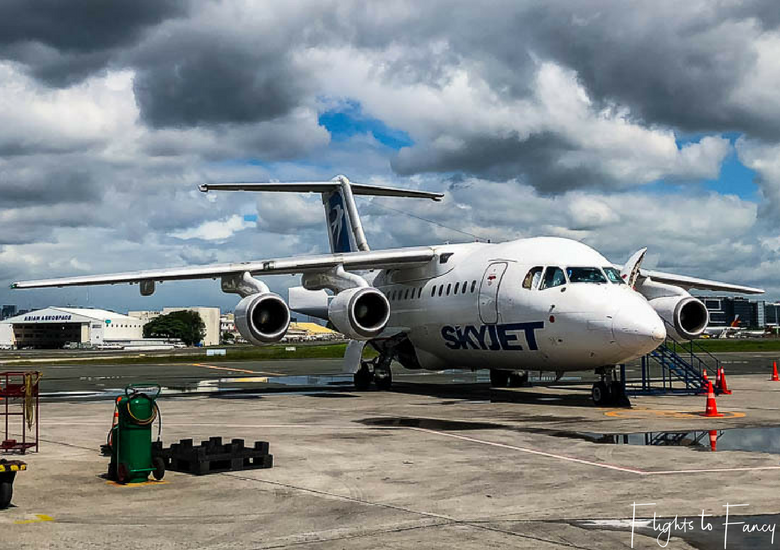 Flights To Fancy Featured Image - Skyjet Airlines Philippines BAE 146