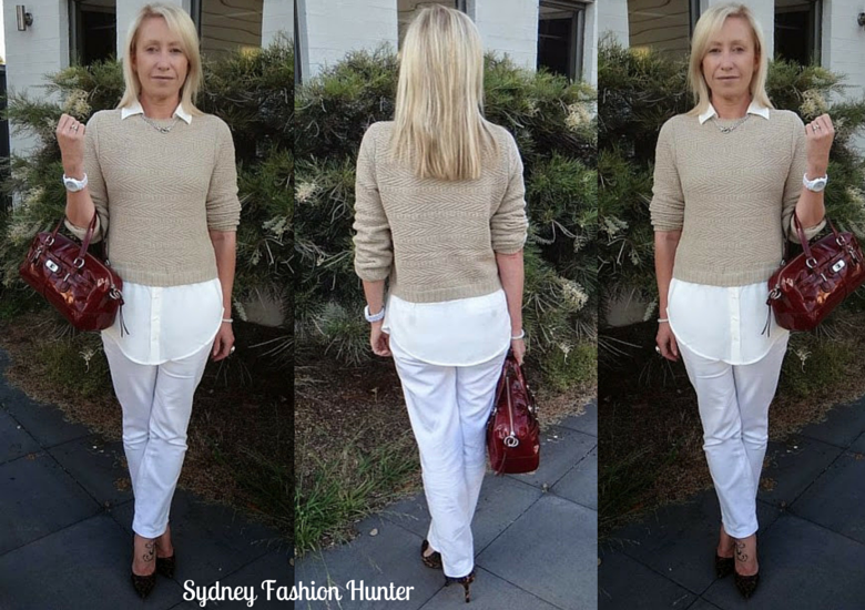 Sydney Fashion Hunter: The Wednesday Pants #10 - Neutral & Leopard