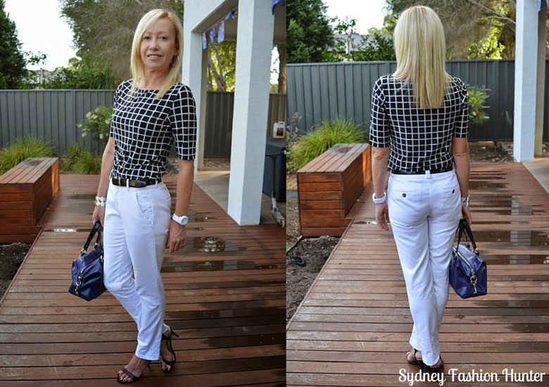 Sydney Fashion Hunter: The Wednesday Pants #31 - Window Pane