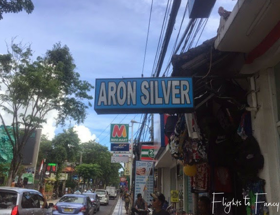 Flights To Fancy Shopping In Bali Boutiques Aron Silver Legian