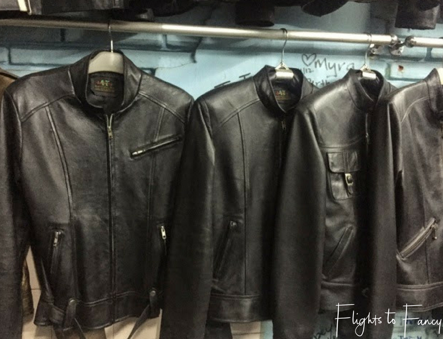 Flights To Fancy Shopping In Bali - Leather Jackets