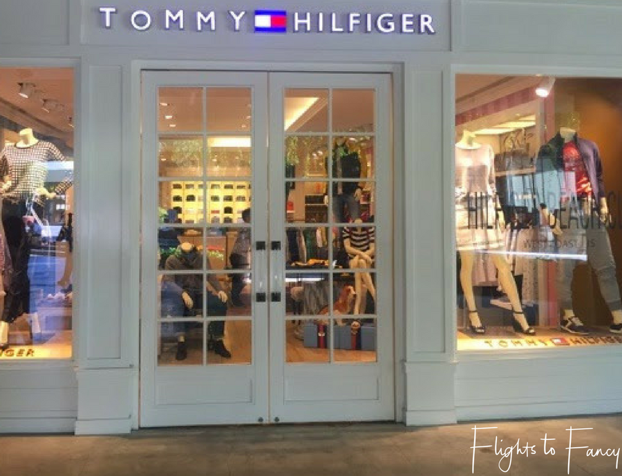 Flights To Fancy Shopping Malls in Kuta Tommy Hilfiger