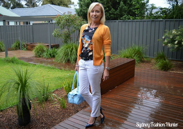Sydney Fashion HUnter: The Wednesday Pants #28 - Dark Day Colour