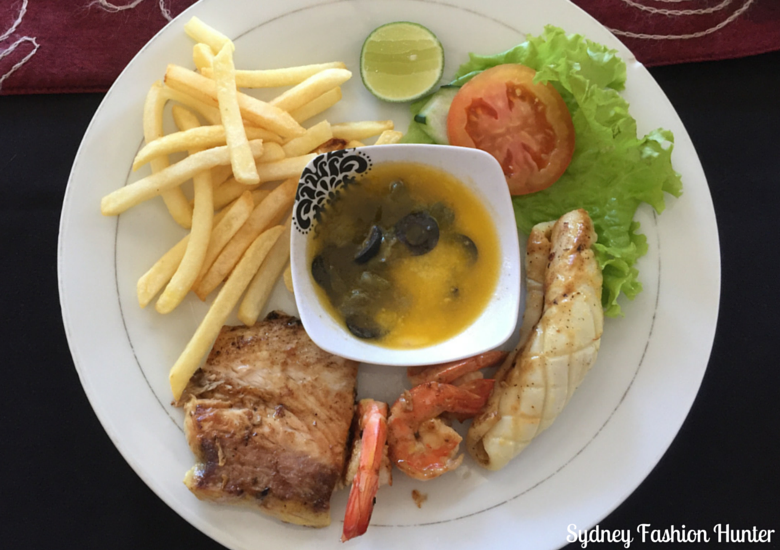 Eating Out Bali Style: Sheppy's Seafood Platter