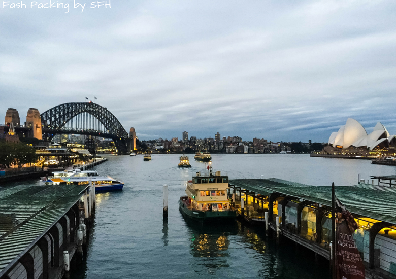 Fash Packing by Sydney Fashion Hunter: Sydney Like A Local - Sydney Harbour Bridge & Opera House