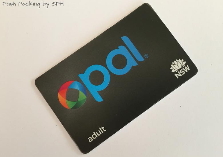 Fash Packing by Sydney Fashion Hunter: Sydney Like A Local - Opal Card