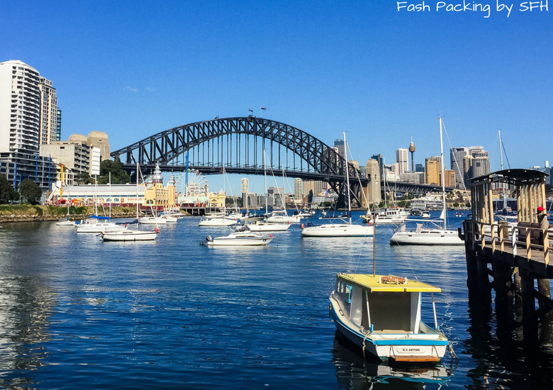 Fash Packing by Sydney Fashion Hunter: Sydney Like A Local - Sydney Harbour Bridge