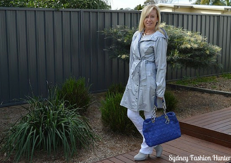 Sydney Fashion Hunter: The Wednesday Pants #41 - Silver Slicker