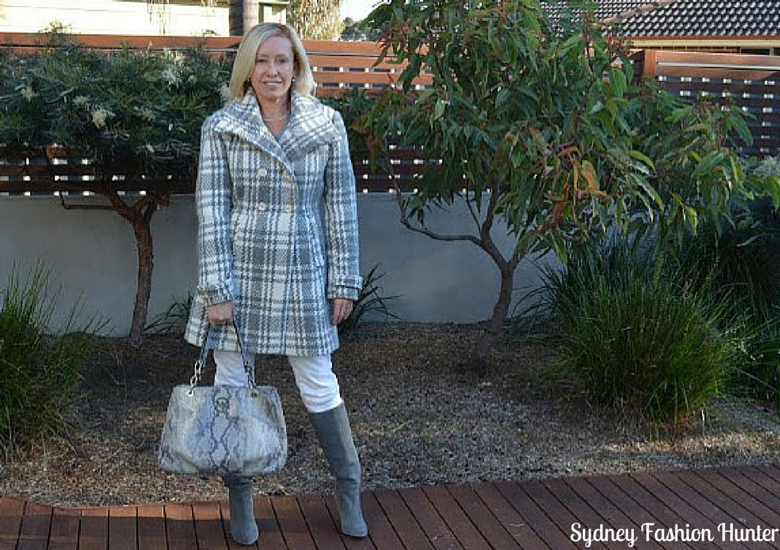 Sydney Fashion Hunetr: The Wednesday Pants #42 - Glam Grey