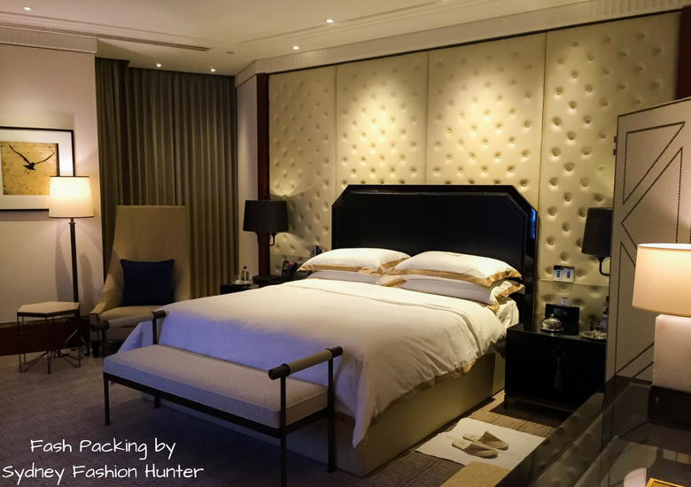 Fash Packing by Sydney Fashion Hunter: Crown Towers Melbourne Deluxe Villa Review - Bedroom